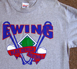 Ewing Baseball Shirt
